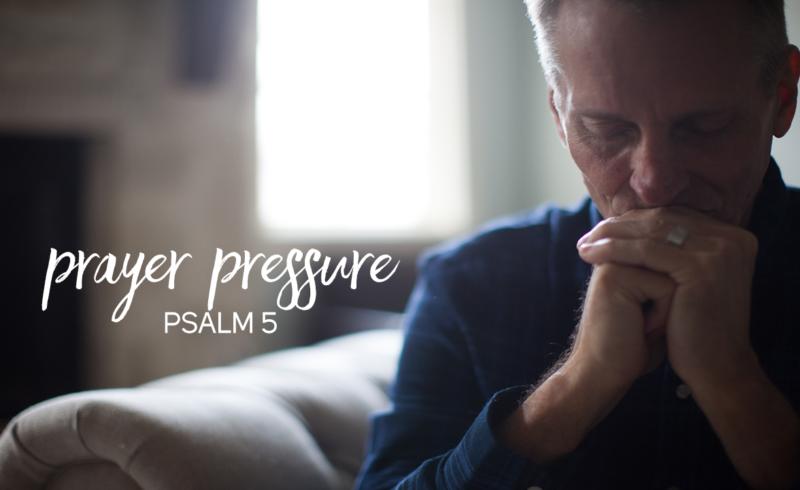 prayer pressure